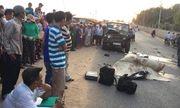 Xe máy đối đầu xe Jeep, 2 chiến sĩ cảnh sát PCCC tử vong tại chỗ
