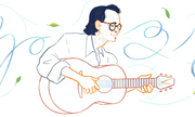 Hình ảnh nhạc sĩ Trịnh Công Sơn nổi bật Google trong lần kỉ niệm sinh nhật thứ 80