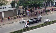 Video: Đoàn xe chở Chủ tịch Triều Tiên Kim Jong-un về Lạng Sơn