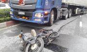 Tai nạn giao thông, container kéo lê người đàn ông lúc rạng sáng
