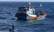 Đánh nhau trên tàu, một ngư dân rơi xuống biển mất tích