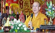 Trụ trì chùa Ba Vàng sẽ bị kỷ luật nếu có sai phạm như báo chí phản ánh