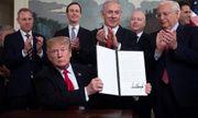 Ông Trump ký sắc lệnh công nhận cao nguyên Golan thuộc chủ quyền của Israel