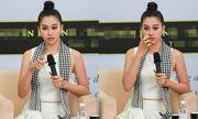 Hoa hậu Tiểu Vy rơi nước mắt trong lần đầu trải lòng về vương miện tuổi 18