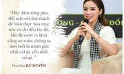 Dàn hoa hậu, á hậu Việt và những câu nói truyền cảm hứng