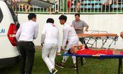 Thông tin mới nhất về sức khỏe của tiền vệ Triệu Việt Hưng sau pha chấn thương nguy hiểm