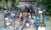 Mùa hè đến, cùng nghiên cứu những cách chống nắng nóng bá đạo của dân mạng