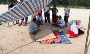 Xác chết nam giới trôi dạt vào bờ biển Quảng Ngãi