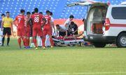 Tình hình sức khỏe Thiện Đức sau pha va chạm nguy hiểm ở vòng 8 V-League 2019