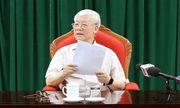 Chùm ảnh: Tổng Bí thư, Chủ tịch nước Nguyễn Phú Trọng chủ trì họp lãnh đạo chủ chốt