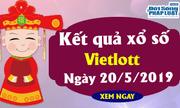Kết quả xổ số Vietlott hôm nay 20/5/2019