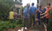 1 người dân bị thương vì xe cảnh sát giao thông mất lái tông vào nhà