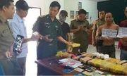 Quảng Trị: Bắt 3 đối tượng mang 100.000 viên ma túy vào Việt Nam