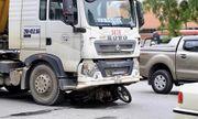 Người đàn ông bị xe ben cán qua người tử vong giữa phố Hà Nội