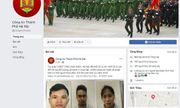 Từ 17/6, Công an Hà Nội sẽ tiếp nhận thông tin an ninh trật tự qua Facebook