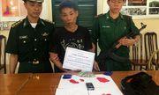 Bắt đối tượng người Lào vận chuyển 800 viên hồng phiến vào Việt Nam tiêu thụ