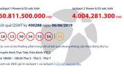 Kết quả xổ số Vietlott hôm nay 6/6/2019: Jackpot hơn 60 tỷ đồng vẫn