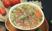 Cách nấu canh sấu thịt băm thơm ngon, giải nhiệt ngày nắng nóng