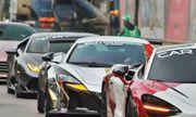 Dàn siêu xe tham dự Car Passion 2019 nối đuôi nhau rời Hà Nội