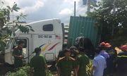 Vụ container tông ôtô 4 chỗ, 5 người chết ở Tây Ninh: Tạm giữ tài xế gây tai nạn