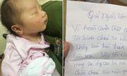 Xót xa bé gái vài ngày tuổi bị bỏ rơi cùng tâm thư của người mẹ