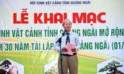 Triển lãm Sinh Vật Cảnh tỉnh Quảng Ngãi mở rộng năm 2019 chào mừng 30 năm tái lập tỉnh Quảng Ngãi