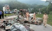 Vụ xe tải đâm xe khách khiến 34 người thương vong tại Hòa Bình: Hé lộ nguyên nhân