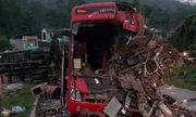 Hòa Bình: Tai nạn thảm khốc giữa xe tải và xe khách khiến 34 người thương vong