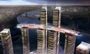 Video: Mục sở thị 8 tòa nhà chọc trời nối với nhau bằng cầu trên không