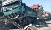 Nghệ An: Không làm chủ tốc độ ba xe tải tông liên hoàn trên Quốc lộ 1A