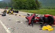 Ám ảnh hiện trường vụ 10 tay lái mô tô phân khối lớn thương vong sau va chạm kinh hoàng