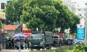 Vụ xô xát, đập phá nhà hàng ở biển Hải Tiến: Hàng chục cảnh sát vẫn phải cắm chốt bảo vệ