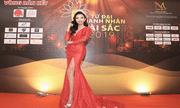 Hoa hậu Huỳnh Trâm nổi bật trong đêm bán kết 'Tứ Đại Doanh Nhân Tài Sắc' 2019