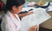 Thí sinh duy nhất cả nước làm bài thi THPT quốc gia trên khổ giấy đặc biệt