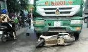 Ô tô tải tông xe máy