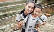 Hoa hậu Tiểu Vy xúc động kể lại hành trình tặng sách trên đảo Thổ Chu