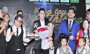 Á Vương Hoàng Phi Kha và diễn viên, người mẫu Đức Tiến tổ chức đêm nhạc từ thiện