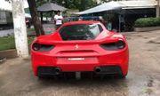 Sau hơn 8 tháng gặp tai nạn, siêu xe Ferrari của ca sĩ Tuấn Hưng đã lăn bánh trở lại