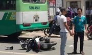 TP.HCM: Va chạm xe buýt, cô gái ngã xuống đường tử vong