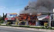 TP.HCM: Cháy lớn tại cơ sở kinh doanh đồ gỗ, thiệt hại hàng tỉ đồng