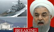 5 tàu vũ trang Iran bao vây, bắt hụt tàu dầu Anh?