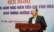 Cách chức Uỷ viên Ban cán sự đảng Bộ GTVT đối với nguyên Thứ trưởng Nguyễn Hồng Trường