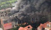 Cháy lớn tại Thiên đường Bảo Sơn: Nhiều biệt thự bị thiêu rụi, cột khói cao cả trăm mét