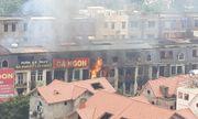 Hiện trường vụ cháy kinh hoàng ở Thiên đường Bảo Sơn, nhiều biệt thự bị thiêu rụi