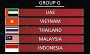 Bốc thăm vòng loại World Cup 2022: Việt Nam cùng bảng Thái Lan, Malaysia
