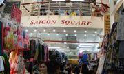 Nhiều hàng giả bán tại chợ Bến Thành và Sài Gòn Square