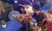TP.HCM: Kiểm tra cơ sở kinh doanh bóng cười trên phố Bùi Viện, tịch thu 1 tạ khí N2O