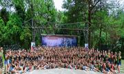 Đông y Lan Chi tổ chức khóa huấn luyện rèn luyện bản lĩnh thép cho thành viên