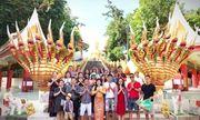 Mỹ phẩm cao cấp roza tri ân khách hàng chuyến du lịch Thái Lan 2019