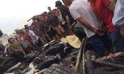 Kim Thành - Hải Dương: Một xe tải chở nước đóng chai Aquafina bất ngờ lật đổ gây hậu quả đặc biệt nghiêm trọng